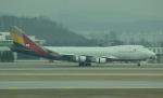 uhfxさんが、仁川国際空港で撮影したアシアナ航空 747-48EF/SCDの航空フォト(飛行機 写真・画像)