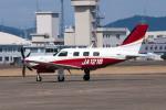 髪刈虫(かみきりむし)さんが、名古屋飛行場で撮影した日本法人所有 PA-46-500TP Meridian M600の航空フォト(飛行機 写真・画像)