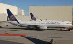 uhfxさんが、ロサンゼルス国際空港で撮影したユナイテッド航空 737-824の航空フォト(飛行機 写真・画像)