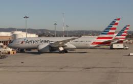 uhfxさんが、ロサンゼルス国際空港で撮影したアメリカン航空 787-8 Dreamlinerの航空フォト(飛行機 写真・画像)