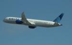 uhfxさんが、サンフランシスコ国際空港で撮影したユナイテッド航空 787-10の航空フォト(飛行機 写真・画像)