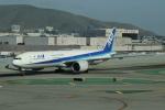 uhfxさんが、サンフランシスコ国際空港で撮影した全日空 777-381/ERの航空フォト(飛行機 写真・画像)