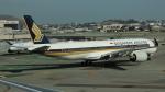uhfxさんが、サンフランシスコ国際空港で撮影したシンガポール航空 A350-941の航空フォト(飛行機 写真・画像)