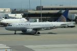 uhfxさんが、サンフランシスコ国際空港で撮影したユナイテッド航空 A319-132の航空フォト(飛行機 写真・画像)