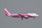 kuro2059さんが、香港国際空港で撮影したピーチ A320-214の航空フォト(飛行機 写真・画像)