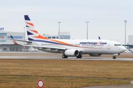 BTYUTAさんが、ヴァーツラフ・ハヴェル・プラハ国際空港で撮影したスマート・ウイングス 737-82Rの航空フォト(飛行機 写真・画像)