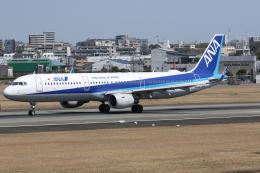 はっくとさんが、伊丹空港で撮影した全日空 A321-211の航空フォト(飛行機 写真・画像)