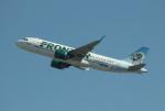 uhfxさんが、サンフランシスコ国際空港で撮影したフロンティア航空 A320-251Nの航空フォト(飛行機 写真・画像)