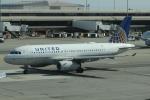 uhfxさんが、サンフランシスコ国際空港で撮影したユナイテッド航空 A319-131の航空フォト(飛行機 写真・画像)