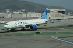 uhfxさんが、サンフランシスコ国際空港で撮影したユナイテッド航空 777-224/ERの航空フォト(飛行機 写真・画像)