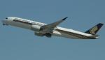 uhfxさんが、サンフランシスコ国際空港で撮影したシンガポール航空 A350-941XWBの航空フォト(飛行機 写真・画像)