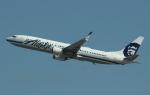uhfxさんが、サンフランシスコ国際空港で撮影したアラスカ航空 737-990/ERの航空フォト(飛行機 写真・画像)