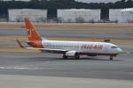 LEGACY-747さんが、成田国際空港で撮影したチェジュ航空 737-83Nの航空フォト(飛行機 写真・画像)