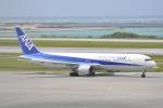 LEGACY-747さんが、那覇空港で撮影した全日空 767-381の航空フォト(飛行機 写真・画像)