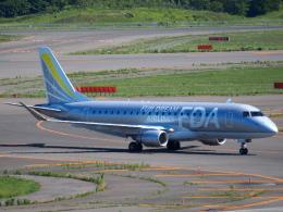 むらさめさんが、新千歳空港で撮影したフジドリームエアラインズ ERJ-170-200 (ERJ-175STD)の航空フォト(飛行機 写真・画像)