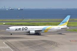 東空さんが、羽田空港で撮影したAIR DO 767-381/ERの航空フォト(飛行機 写真・画像)