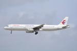 LEGACY-747さんが、那覇空港で撮影した中国東方航空 A321-231の航空フォト(飛行機 写真・画像)