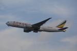 LEGACY-747さんが、香港国際空港で撮影したエチオピア航空 777-F60の航空フォト(飛行機 写真・画像)