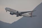LEGACY-747さんが、香港国際空港で撮影したカタール航空カーゴ 777-FDZの航空フォト(飛行機 写真・画像)