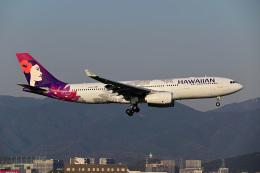 HISAHIさんが、福岡空港で撮影したハワイアン航空 A330-243の航空フォト(飛行機 写真・画像)