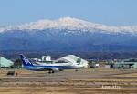 わかすぎさんが、小松空港で撮影した全日空 737-881の航空フォト(飛行機 写真・画像)