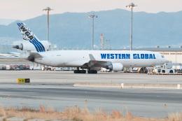 ぬるぽさんが、関西国際空港で撮影したウエスタン・グローバル・エアラインズ MD-11Fの航空フォト(飛行機 写真・画像)