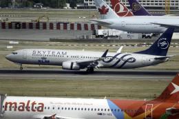 planetさんが、ロンドン・ヒースロー空港で撮影したKLMオランダ航空 737-9K2の航空フォト(飛行機 写真・画像)