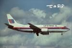 tassさんが、マイアミ国際空港で撮影したユナイテッド航空 737-322の航空フォト(飛行機 写真・画像)