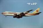 tassさんが、成田国際空港で撮影したコンチネンタル航空 747-143の航空フォト(飛行機 写真・画像)