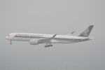 LEGACY-747さんが、香港国際空港で撮影したシンガポール航空 A350-941の航空フォト(飛行機 写真・画像)