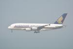 LEGACY-747さんが、香港国際空港で撮影したシンガポール航空 A380-841の航空フォト(飛行機 写真・画像)