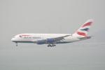 LEGACY-747さんが、香港国際空港で撮影したブリティッシュ・エアウェイズ A380-841の航空フォト(飛行機 写真・画像)