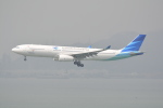 LEGACY-747さんが、香港国際空港で撮影したガルーダ・インドネシア航空 A330-343Xの航空フォト(飛行機 写真・画像)