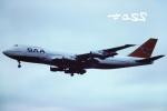 tassさんが、ロンドン・ヒースロー空港で撮影した南アフリカ航空 747-244Bの航空フォト(飛行機 写真・画像)
