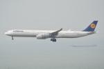 LEGACY-747さんが、香港国際空港で撮影したルフトハンザドイツ航空 A340-642の航空フォト(飛行機 写真・画像)