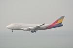 LEGACY-747さんが、香港国際空港で撮影したアシアナ航空 747-48EM(BDSF)の航空フォト(飛行機 写真・画像)