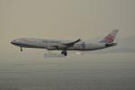 LEGACY-747さんが、香港国際空港で撮影したチャイナエアライン A340-313Xの航空フォト(飛行機 写真・画像)