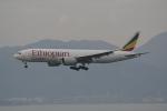 LEGACY-747さんが、香港国際空港で撮影したエチオピア航空 777-F6Nの航空フォト(飛行機 写真・画像)