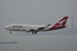 LEGACY-747さんが、香港国際空港で撮影したカンタス航空 747-438の航空フォト(飛行機 写真・画像)