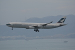 LEGACY-747さんが、香港国際空港で撮影したキャセイパシフィック航空 A340-313Xの航空フォト(飛行機 写真・画像)
