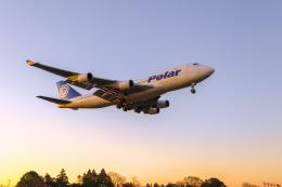 mameshibaさんが、成田国際空港で撮影したポーラーエアカーゴ 747-46NF/SCDの航空フォト(飛行機 写真・画像)