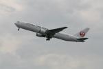 武田菱さんが、羽田空港で撮影した日本航空 767-346/ERの航空フォト(飛行機 写真・画像)