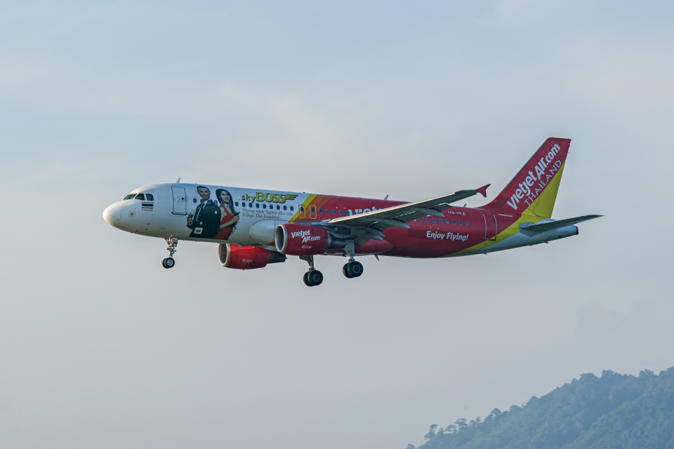 delawakaさんのタイ・ベトジェットエア Airbus A320 (HS-VKE) 航空フォト
