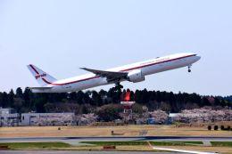 まいけるさんが、成田国際空港で撮影したガルーダ・インドネシア航空 777-3U3/ERの航空フォト(飛行機 写真・画像)
