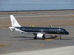 エアキンさんが、中部国際空港で撮影したスターフライヤー A320-214の航空フォト(飛行機 写真・画像)