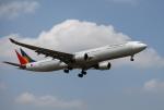 mojioさんが、成田国際空港で撮影したフィリピン航空 A330-301の航空フォト(飛行機 写真・画像)