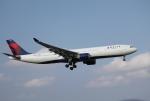 mojioさんが、成田国際空港で撮影したデルタ航空 A330-323Xの航空フォト(飛行機 写真・画像)