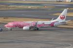 ANA744Foreverさんが、羽田空港で撮影した日本トランスオーシャン航空 737-8Q3の航空フォト(飛行機 写真・画像)