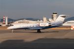 髪刈虫(かみきりむし)さんが、名古屋飛行場で撮影したウェルズ・ファーゴ・デラウェア・トラスト G-IV Gulfstream IV-SPの航空フォト(飛行機 写真・画像)
