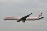チョロ太さんが、成田国際空港で撮影したガルーダ・インドネシア航空 777-3U3/ERの航空フォト(飛行機 写真・画像)